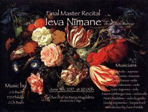 Final Master recital POSTER